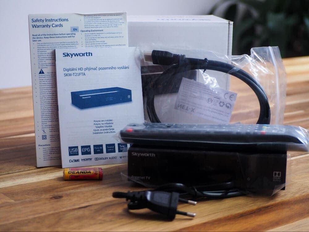 K set-top boxu dostanete HDMI kabel zdarma