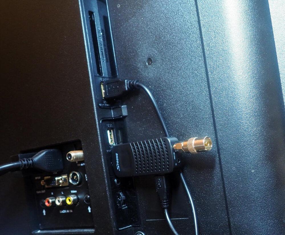 Připojení set-top boxu Strong SRT 82