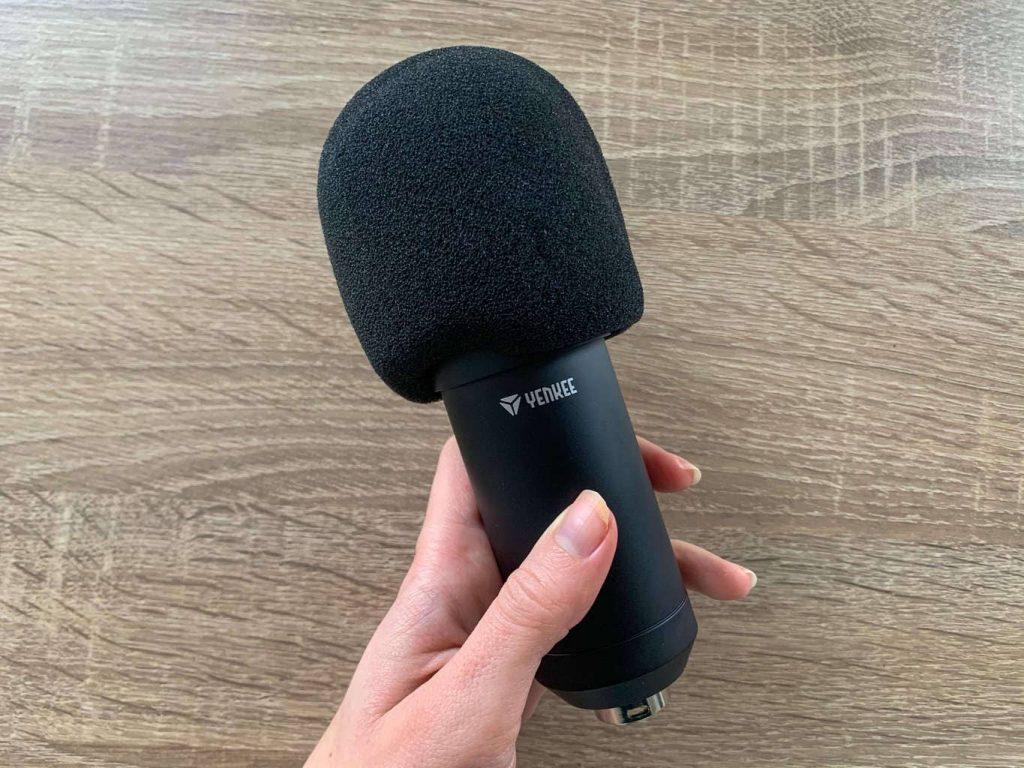 Mikrofon s protivětrnou ochranou
