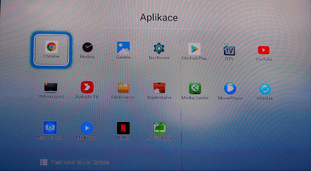 Operační systém Android vám dovolí doinstalovat nespočet aplikací které dále rozšíří funkce vašeho televizoru